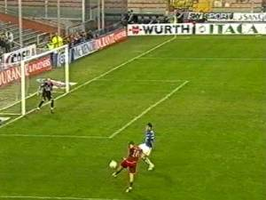 fantastic volley goal by francesco totti