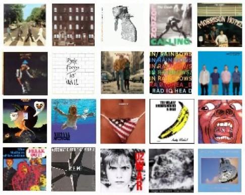 skylyro's Top 20 Album Covers