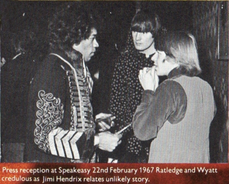 Jimi Hendrix and The Soft Machine