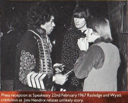 Jimi Hendrix and The Soft Machine